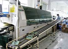 川基伟业生产车间--波峰焊